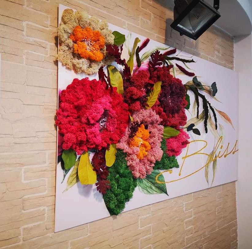 tablou floral bliss
