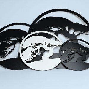 Rama Bonsai 30 cm negru