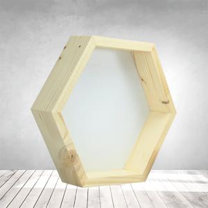 Rama Hexagonala lemn